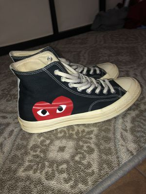 Cdg converse Size 9 men pick up for Sale in CRYSTAL CITY, CA
