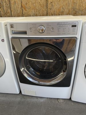 $350 Kenmore washer with delivery in the San Fernando Valley a warranty and install for Sale in Burbank, CA