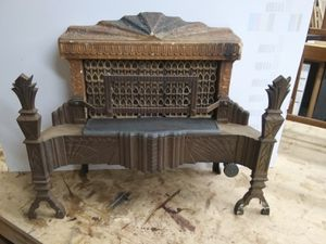 Art Deco Cast Iron Gas Heater for Sale in Westminster, CA