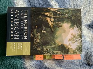 The Norton Anthology American Literature for Sale in Kissimmee, FL