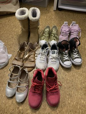 Girl shoes size 13 and 1 for Sale in Salem, MA