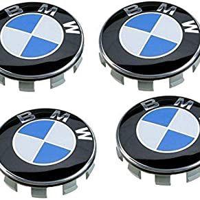 Genuine BMW Blue / White / Black 68mm Center Wheel Hub Caps for Sale in Franklin Park, IL