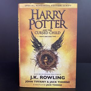 Harry Potter and the Cursed Child Parts 1 & 2 Special Rehearsal Edition Script Book by J.K. Rowling for Sale in San Jose, CA