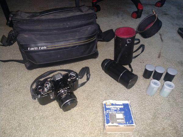 Pentax Asahi Spotmatic camera