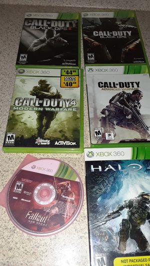 Lot of 6 Xbox 360 games for Sale in Fall River, MA
