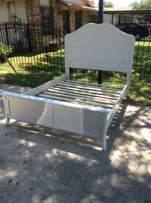 Full size bed frame serious inquires only for Sale in San Antonio, TX