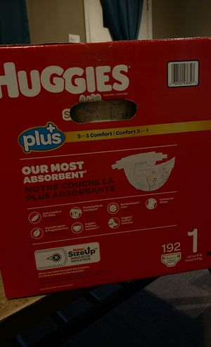 Huggies pamper size 1 for Sale in Capitol Heights, MD