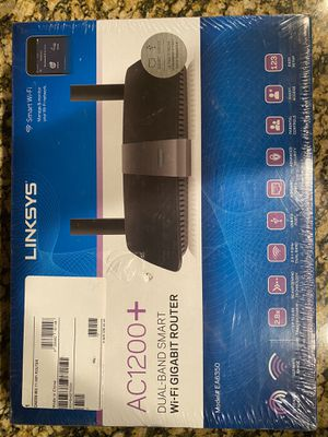 LINKSYS EA6350 AC1200+ ROUTER BRAND NEW for Sale in Prosper, TX