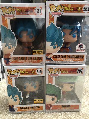 Dragonball Z Funko Pop Super Saiyan God Goku SSGSS Vegito for Sale in Ponte Vedra Beach, FL