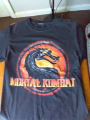 Mortal Kombat shirt ..size medium for Sale in Norfolk, VA