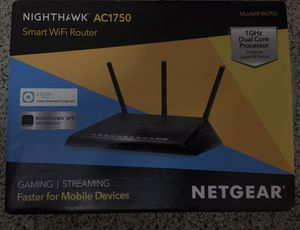 Netgear wireless router- Nighthawk AC1750 for Sale in Puyallup, WA