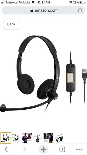 Usb Headset SENNHEISSEISER HD AUDIO for Sale in San Diego, CA