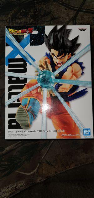 Dragon Ball Z G x materia THE SON GOKOU Son Goku figure Banpresto for Sale in Federal Way, WA
