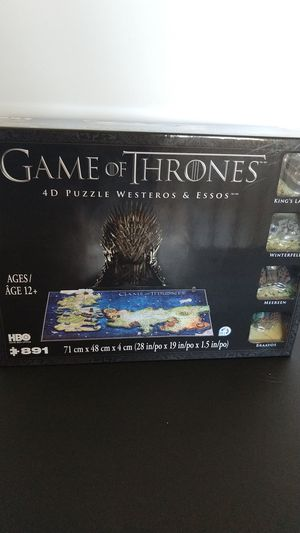 Game of Thrones 4D puzzle for Sale in Fairfield, CA