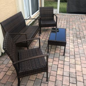 Outdoor furniture for Sale in Miramar, FL