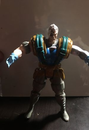 Cable action figure 1992 marvel China toy biz inc. the arm doesn't work tho. for Sale in San Jose, CA