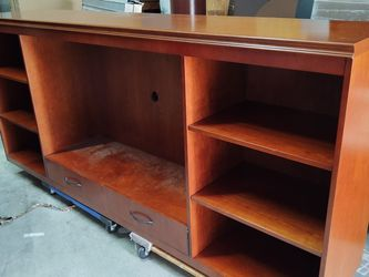 Solid Wood Entertainment Center for Sale in Lakeland,  FL