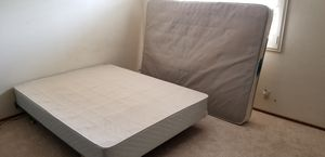 Free full size mattress box spring frame for Sale in San Diego, CA