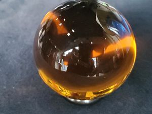 Near Flawless Stunning Baccarat France Crystal Sirius Art Glass orb for Sale in Palos Verdes Estates, CA