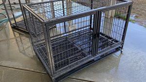 Stackable dual door dog crate for Sale in San Jacinto, CA