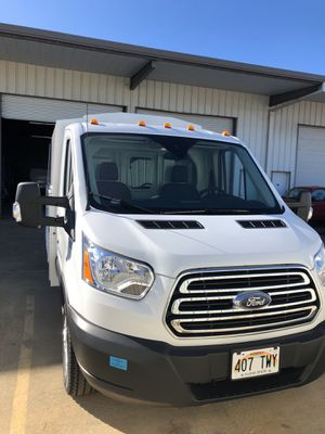 2019 Ford transit 350HD knapheide/kuv cargo/utility van for Sale in Kaneohe, HI
