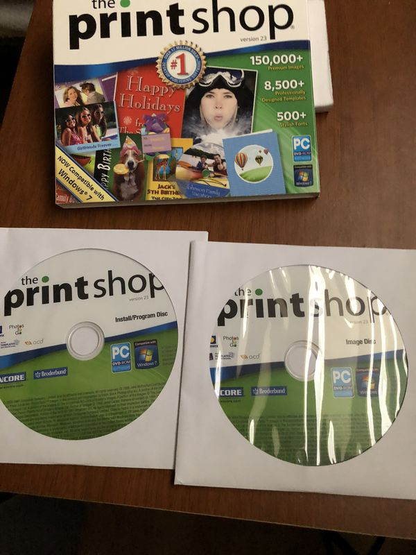 The Print Shop version 23