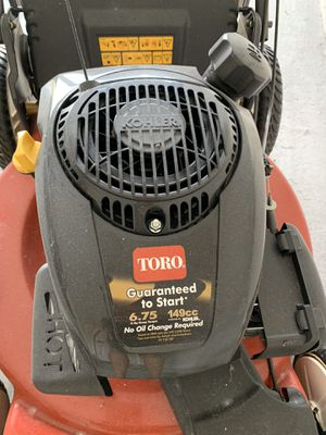 Toro recycler variable speed high wheel. Lawn mower for Sale in FL, US