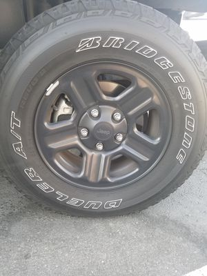 JEEP Rims & Tires for Sale in Phillips Ranch, CA