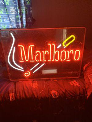 Marlboro neon sign for Sale in Baytown, TX