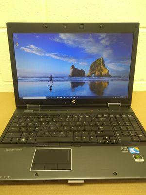 HP Elitebook 8540w i7 Dual Core Laptop Win 10 Pro for Sale in Van Buren, AR