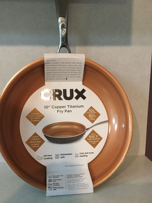 "Copper 10"" fry pan for Sale in Coral Gables, FL"