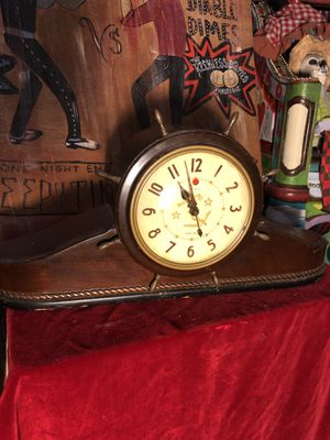 Vintage Antique Nautical Ocean Anchor Clock for Sale in Dania Beach, FL