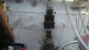 Used towdolly fit's full size trucks&has a winch&battery box for Sale in Palmdale, CA