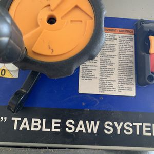 "10"" Ryoby Table Saw Fresh Carbide Fine Blade for Sale in Annandale, VA"