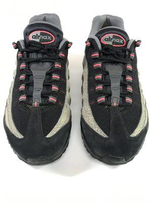 Nike Air Max 95 PRM Safari Ash Black Grey Red Mens Size 11 Rare 538416-006 for Sale in Suwanee, GA