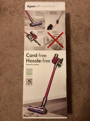 Brand New Dyson V7 Motorhead Cord-free Stick Vacuum in Fuchsia/Steel for Sale in Ontario, CA