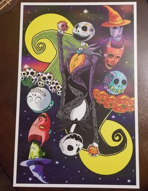Nightmare Before Christmas Print for Sale in Peoria, AZ