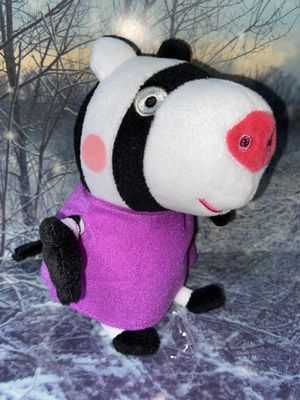 "Nickelodeon TY Peppa Pig - Zoe the Zebra 8"" plush for Sale in Bellflower, CA"
