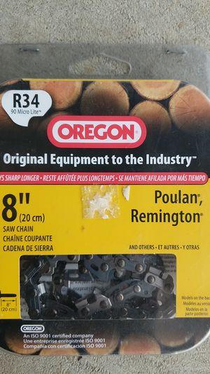 "Oregon 8"" chainsaw chain for Sale in Puyallup, WA"