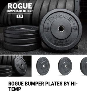 Rogue Fitness Hi-Temp Bumper Plates for Sale in Plainfield, IL