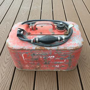 Boat motor gas tank metal Canister for Sale in Damascus, OR
