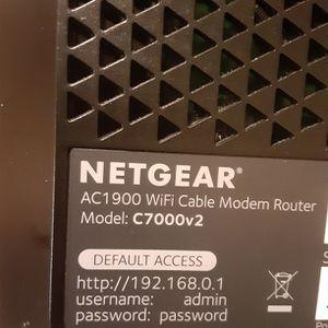 Netgear Model C7000v2 Modem for Sale in Cicero, IL