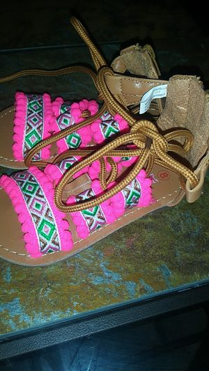 Size 8T sandals for girls and size 4 boots for Sale in Robinson, TX