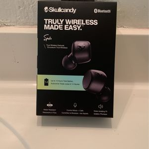 Skullcandy Bluetooth Earbuds Sesh Evo for Sale in Norfolk, VA