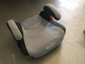 Car booster seat and cover for Sale in Tacoma, WA