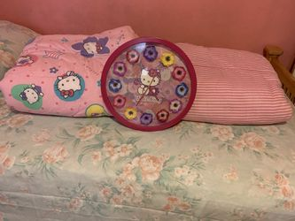 Hello Kitty Comforts & Clock for Sale in Norfolk,  VA
