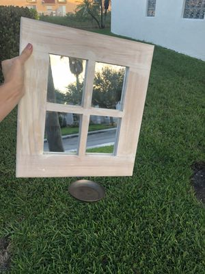Wall Mirror and Candle Holder for Sale in Hollywood, FL