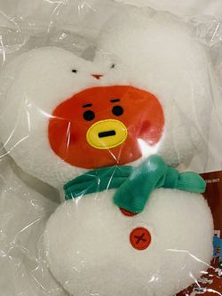BTS BT21 Line Friends Official Christmas Winter Baby Tata Plush Plushie Doll NWT for Sale in Washington,  DC