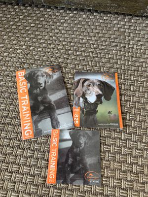 Sport dog training kit CD and books for Sale in Wenatchee, WA