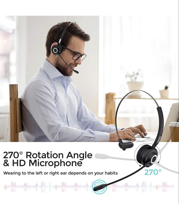 Trucker Bluetooth Headset for Cell Phones